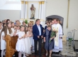 Skuodo Švč. Trejybės atlaidai ir vaikučių Pirmoji Komunija (2019-06-16)