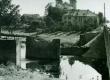 Senoji nuotrauka kaip atrodė pastatas prieš karą (dviejų aukštų)