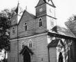Notėnų bažnyčia, 1983 m., R. Požerskio nuotr. Iš kn. Lietuvos medinės bažnyčios, koplyčios ir varpinės, Vilnius, 2007, p. 208