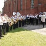 """Kryžiaus išaukštinimo iškilmės ir """"Trimito"""" koncertas Ylakiuose"""