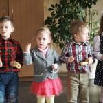 Svečiuose vaikų darželio auklėtiniai